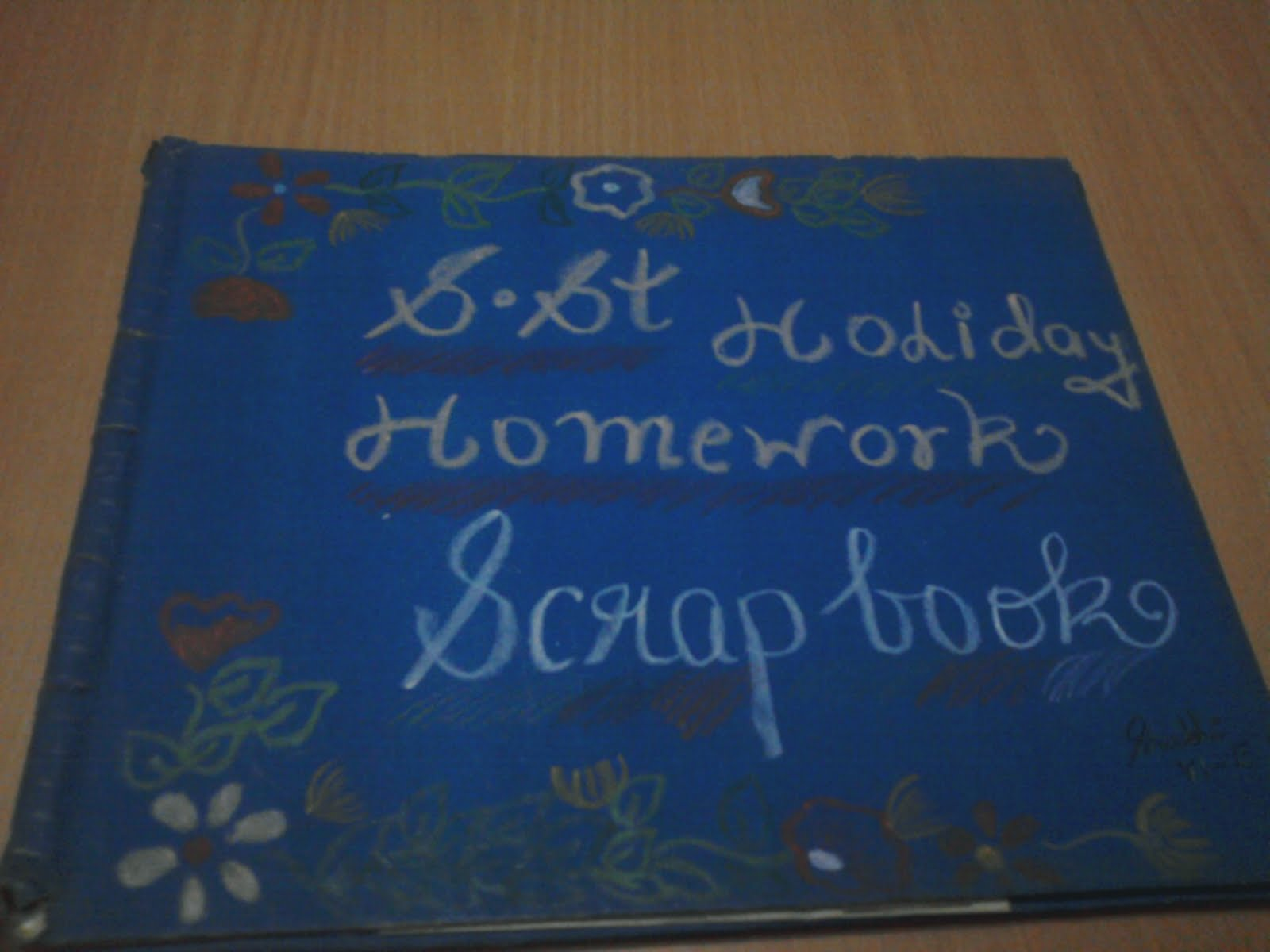 Book Cover For School Project ~ School project file cover page design pixshark