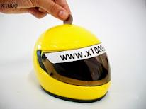 Capacete De Moto - Cofrinho De Moedas - Consulte Modelos - R$ 25,00
