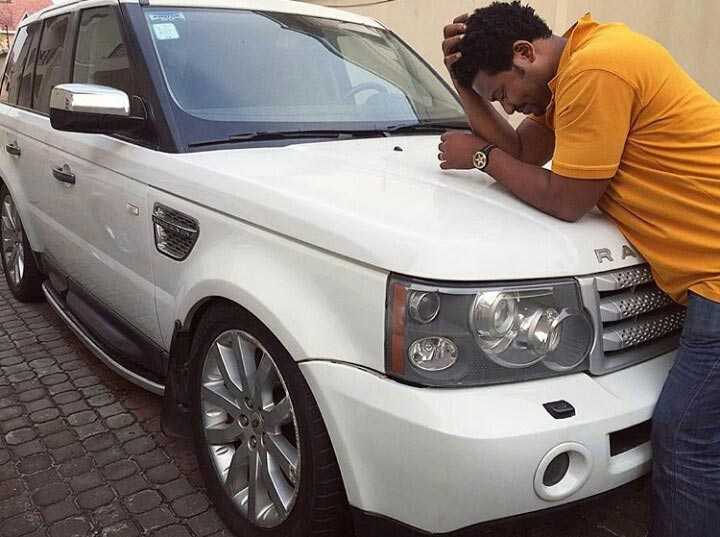Awww! Frank Edwards Gifts Mercedes To Mum, Range Rover To Manager (Photos)
