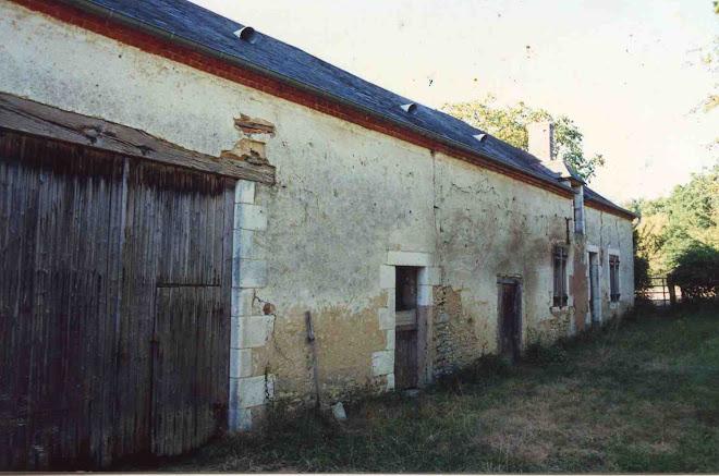 La maison telle que nous l'avons trouvée en 1990