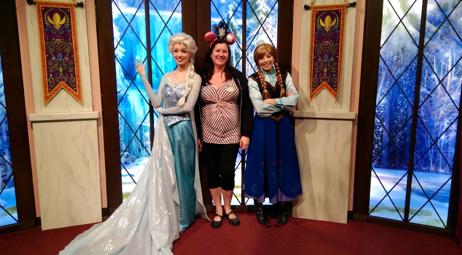 Franceth manor disneyland jewelscent leadership conference and not only did kathy get us onto the lilly belle presidential train car she also got us in to meet anna and elsa with no fast pass shes a wizard m4hsunfo