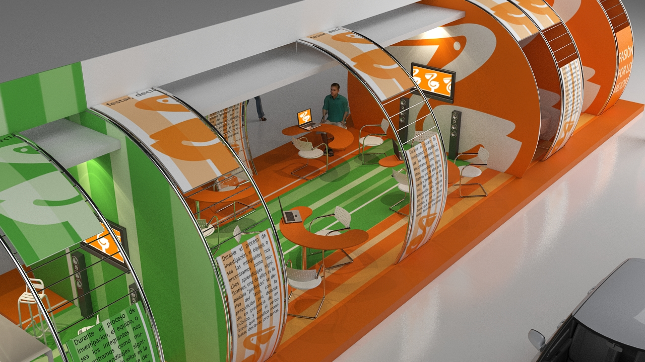 Arquitectura virtual stand de comercial mexicana for Arquitectura virtual