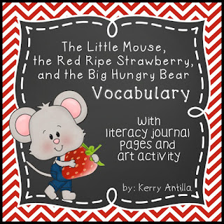 https://www.teacherspayteachers.com/Product/The-Little-Mouse-the-Red-Ripe-Strawberry-and-the-Big-Hungry-Bear-Vocabulary-776133