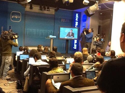 Rajoy en televisión