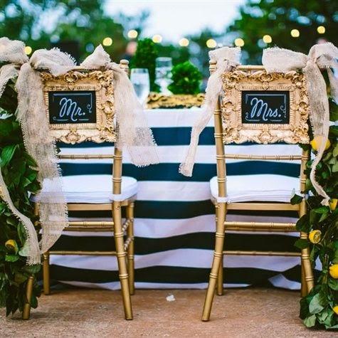 Lady selva detalles de bodas bonitas las sillas de los for Sillas bonitas
