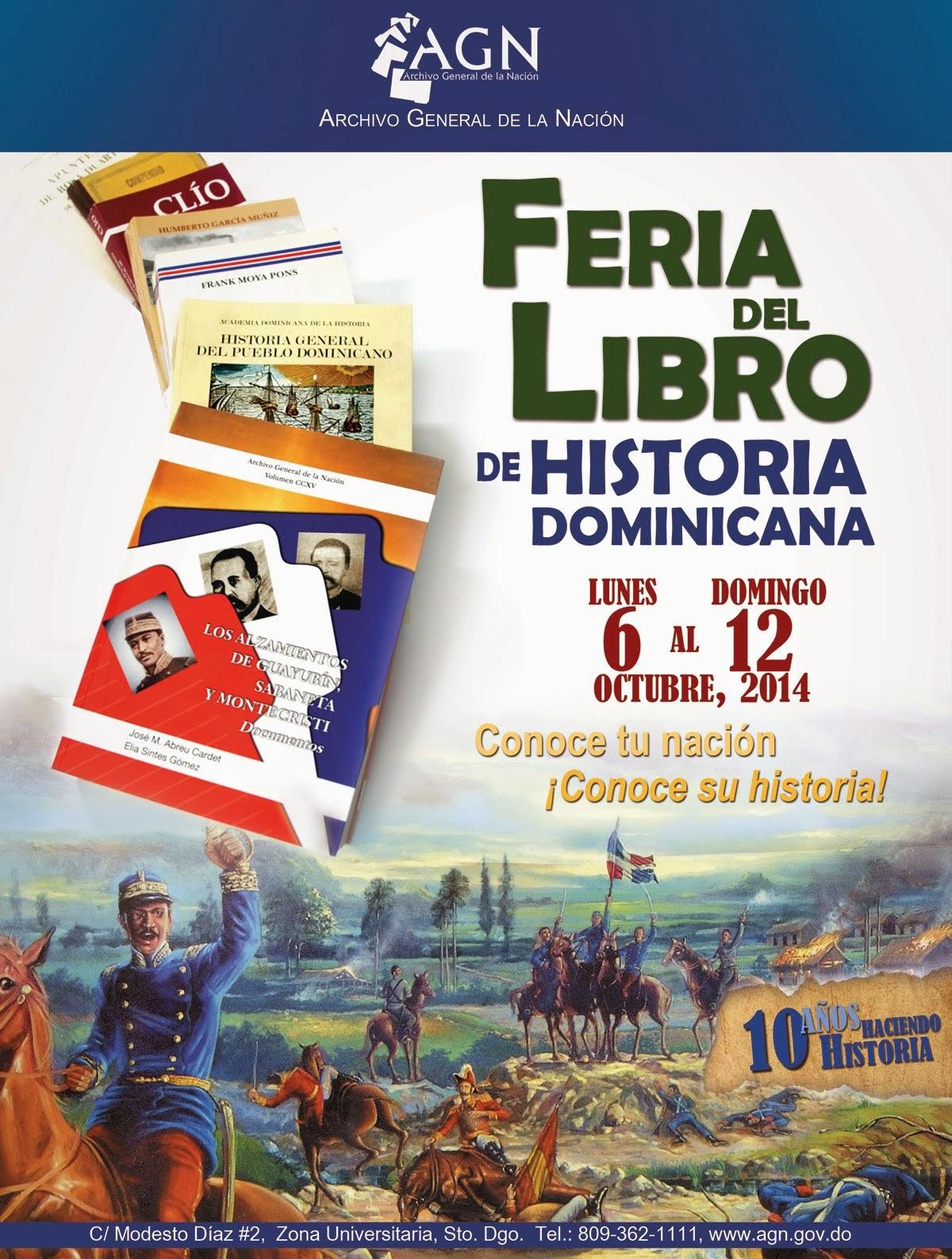 Feria del Libro de Historia Dominicana