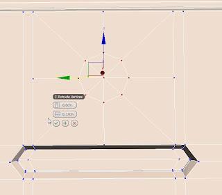 Extruyendo vértices en 3ds max