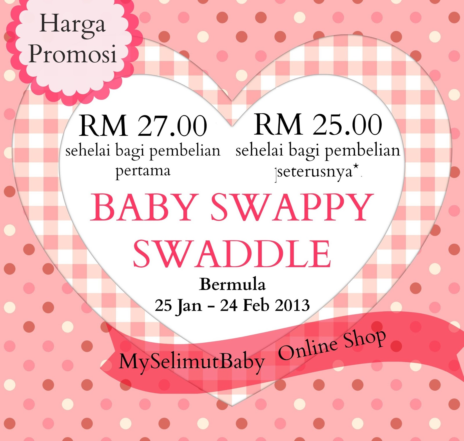 diskaun baby swappy swaddle myselimutbaby online shop. Black Bedroom Furniture Sets. Home Design Ideas