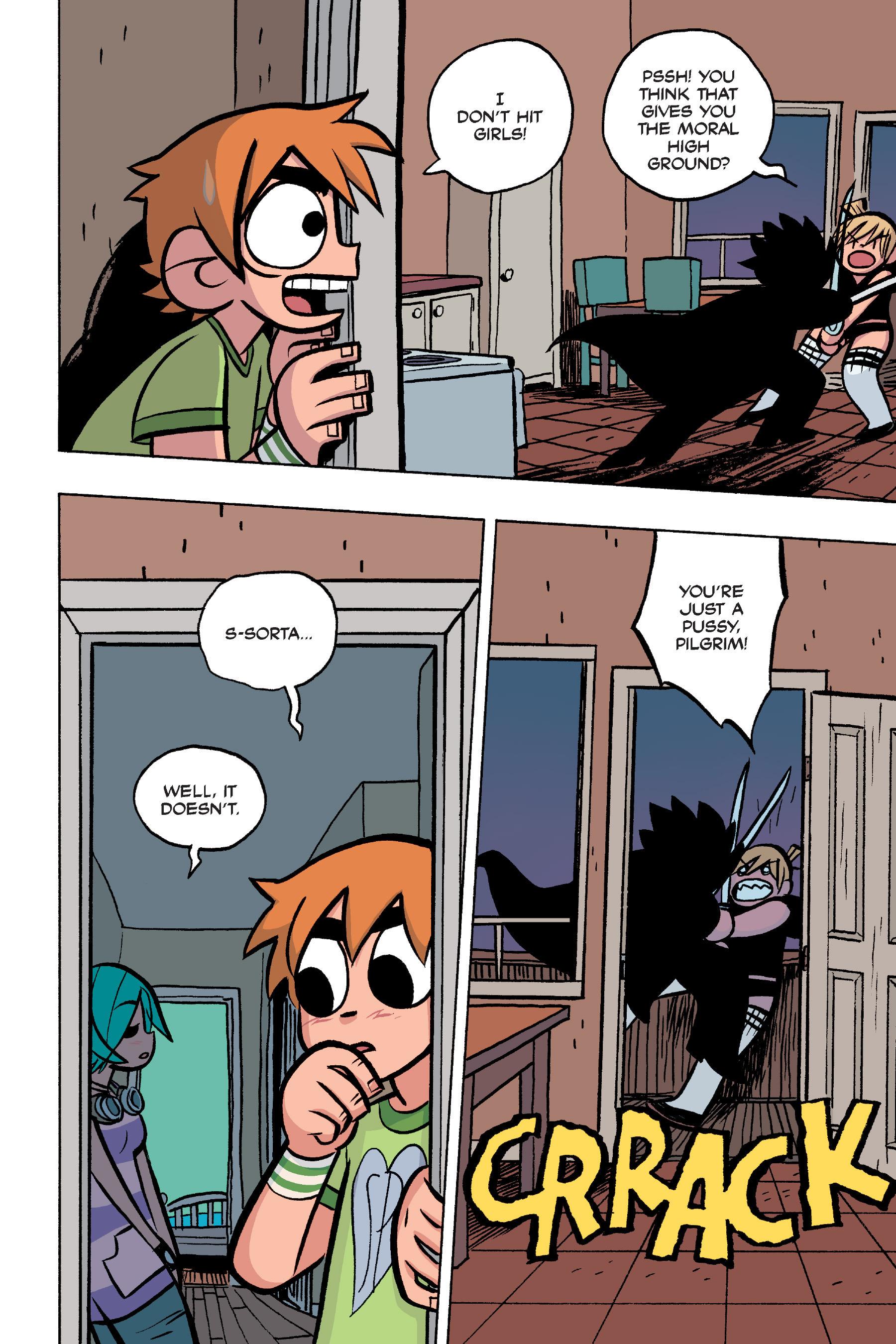 Read online Scott Pilgrim comic -  Issue #4 - 176
