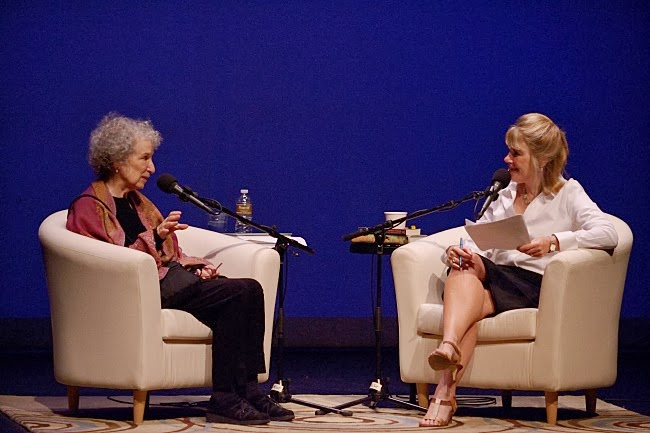 Margaret Atwood and Kerri Miller