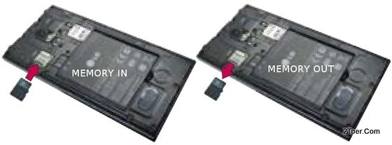 LG Spectrum II 2 VS930 Install Memory Card Remove microSD Slot