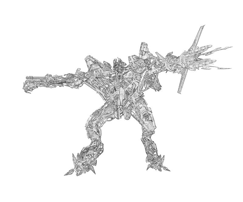 Transformers fall of cybertron starscream robot surfing for Transformers coloring pages starscream