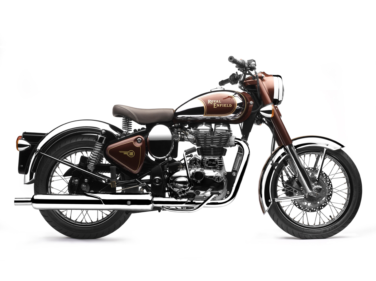endfield bullet india royal enfield classic 500 upgraded classic chrome desert. Black Bedroom Furniture Sets. Home Design Ideas