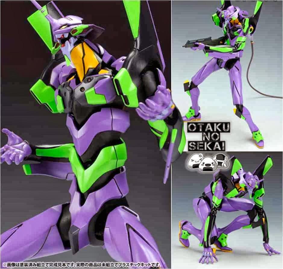 Evangelion: 2.0 Plastic Kit 1/400 Evangelion EVA-01