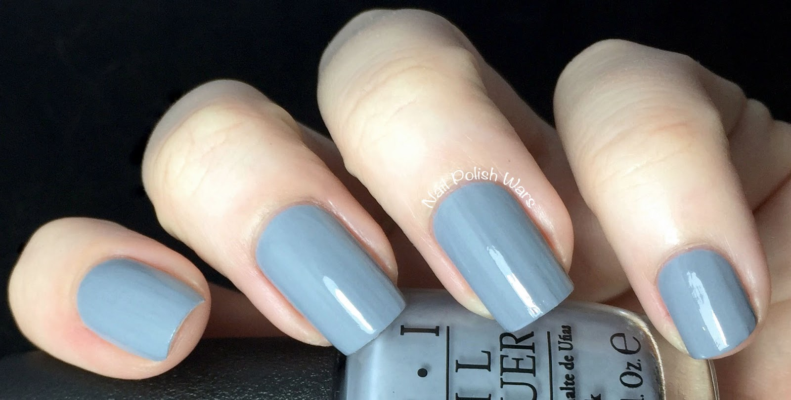 Nail Polish Wars: OPI - 50 Shades of Grey Collection Swatch & Review