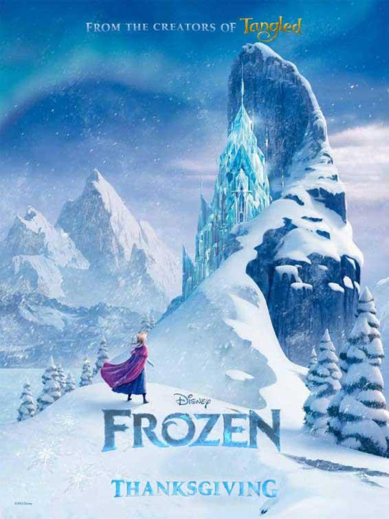 Nuevo teaser póster de Frozen