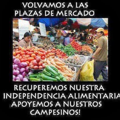¡LOS MERCADOS PÚBLICOS NO SOMOS, NI SEREMOS PARTE DE LA INICIATIVA PRIVADA!