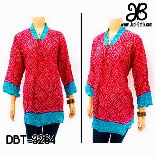 Blus Batik Modern