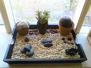 El jardín japonés zen en un espacio reducido