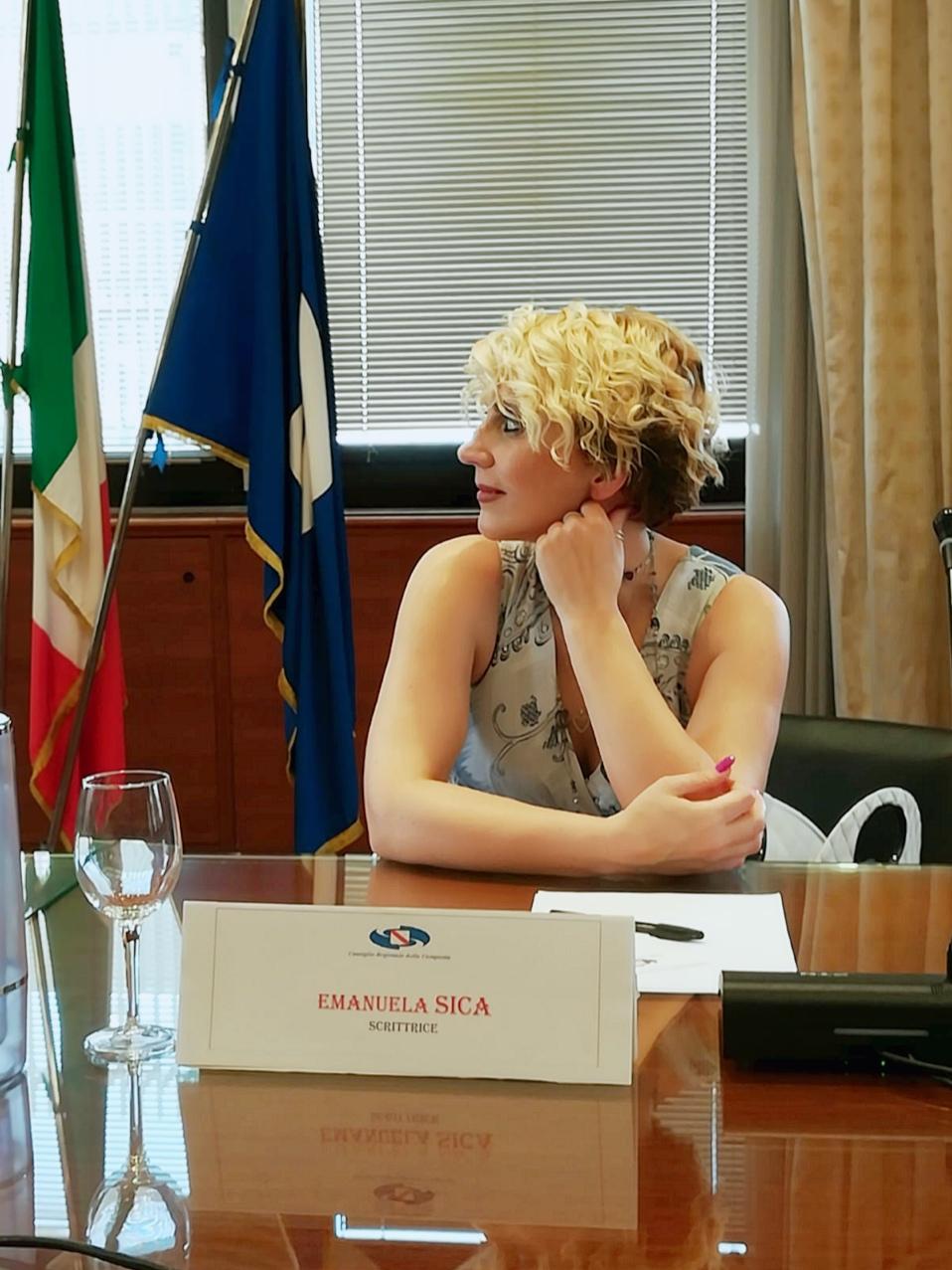"""""""La ragazza di Vizzini""""  - Presentazione del libro presso il Consiglio Regionale della Campania"""