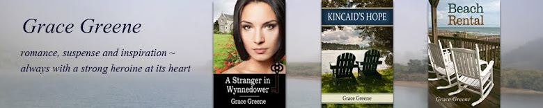 Grace Greene ~ Love. Suspense. Inspiration.