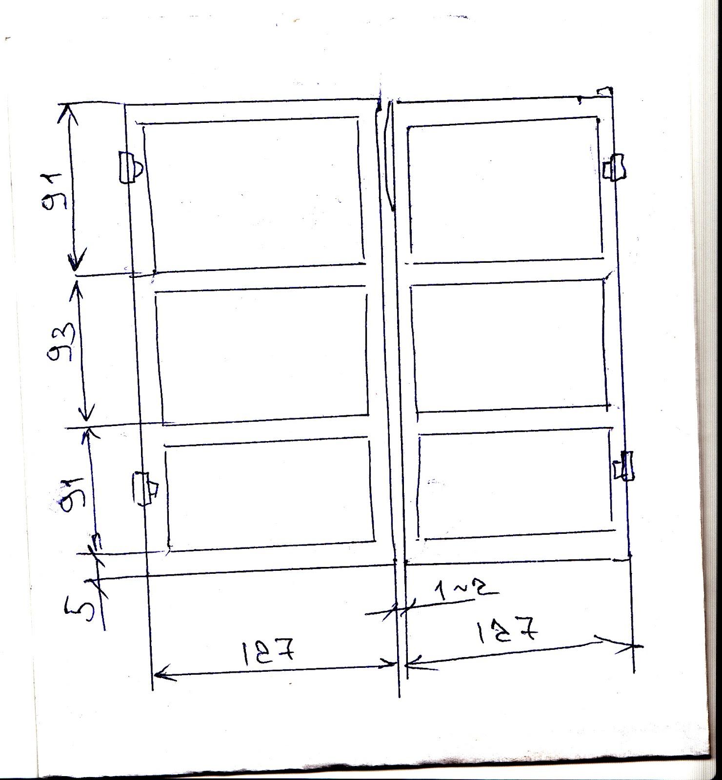 Распашные ворота в гараж своими руками чертежи фото