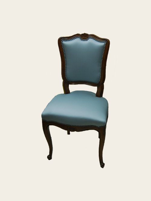 simon j gou artisan tapissier nantes recouvrement d 39 une chaise louis xv. Black Bedroom Furniture Sets. Home Design Ideas