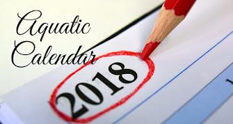 2018 Aquatic Calendar
