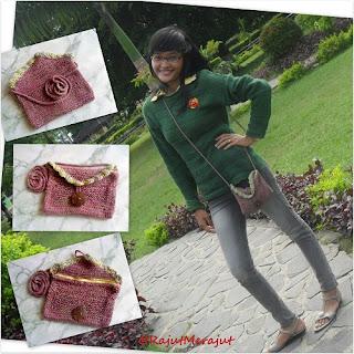 Knitting bag, sweet cotton poyeng, sweet mix poyeng, poyeng hobby, giveaway poyeng