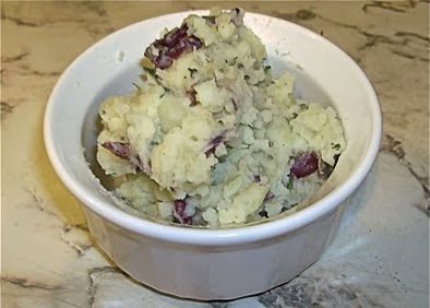 Mashed Parsley Potatoes