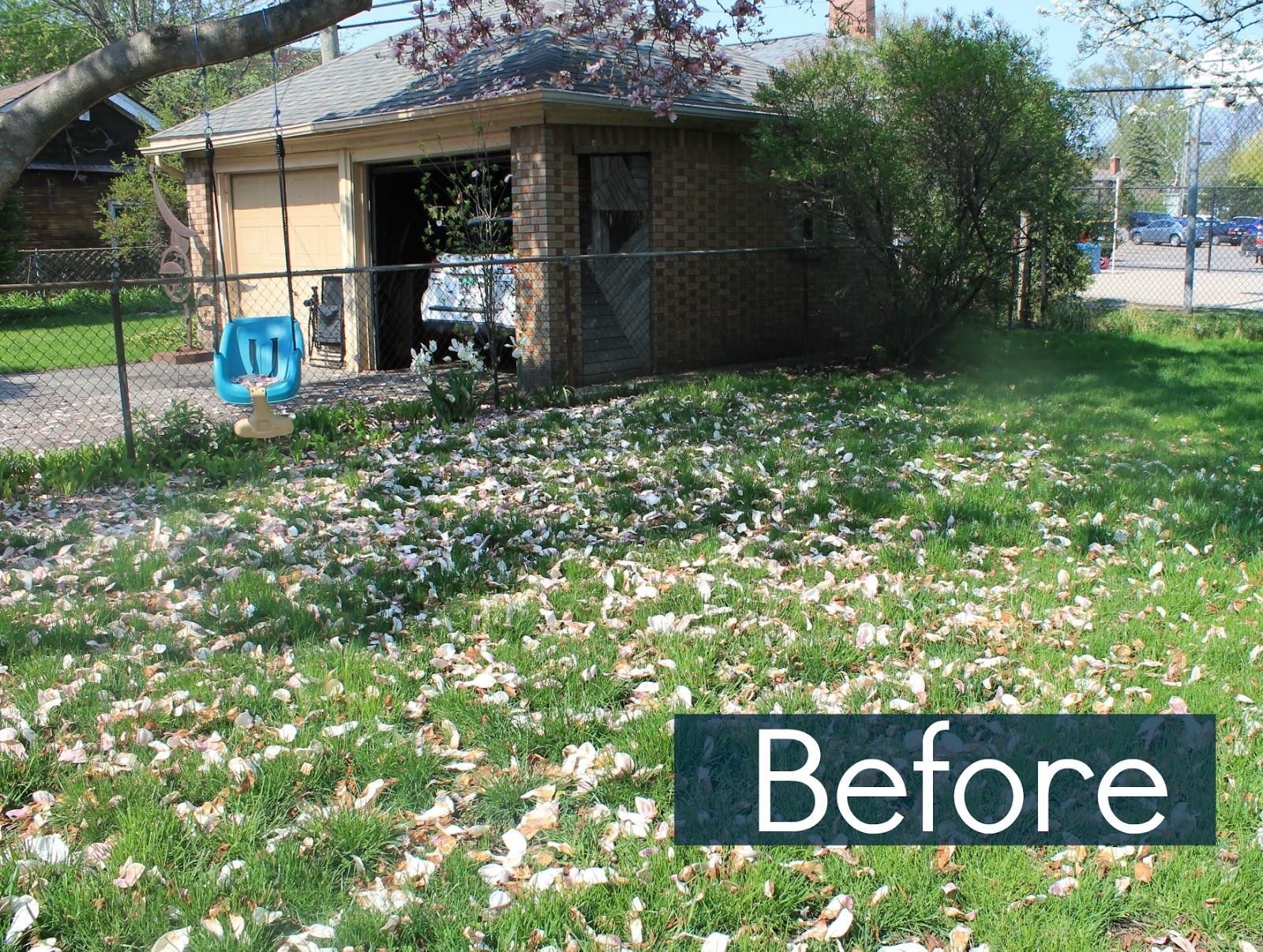 bloom diy back yard play area