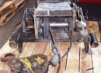 Manitou winch assembly