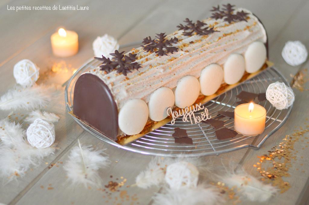 Recette buche noel poire caramel