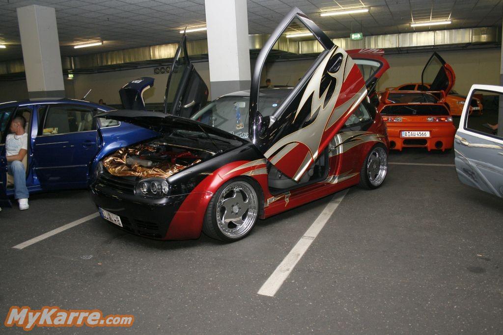 Vw Golf Airbrush Car Revolution