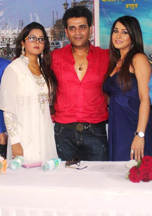 Photos: Mahurat of Bhojpuri movie 'Jiya Ho Bihar Ke Lala' - Ravi Kishan, Anjana Singh, Pakhi Hegde
