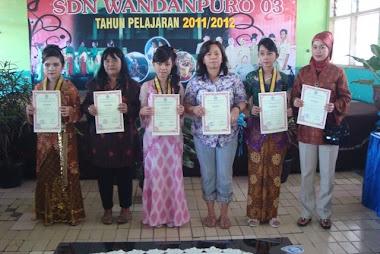 SIswa Prestasi Ujian Nasional Tahun Pelajaran 2011- 2012