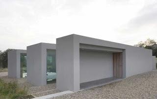 casa minimalista en Irlanda
