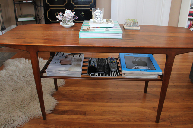Styled Coffee Table
