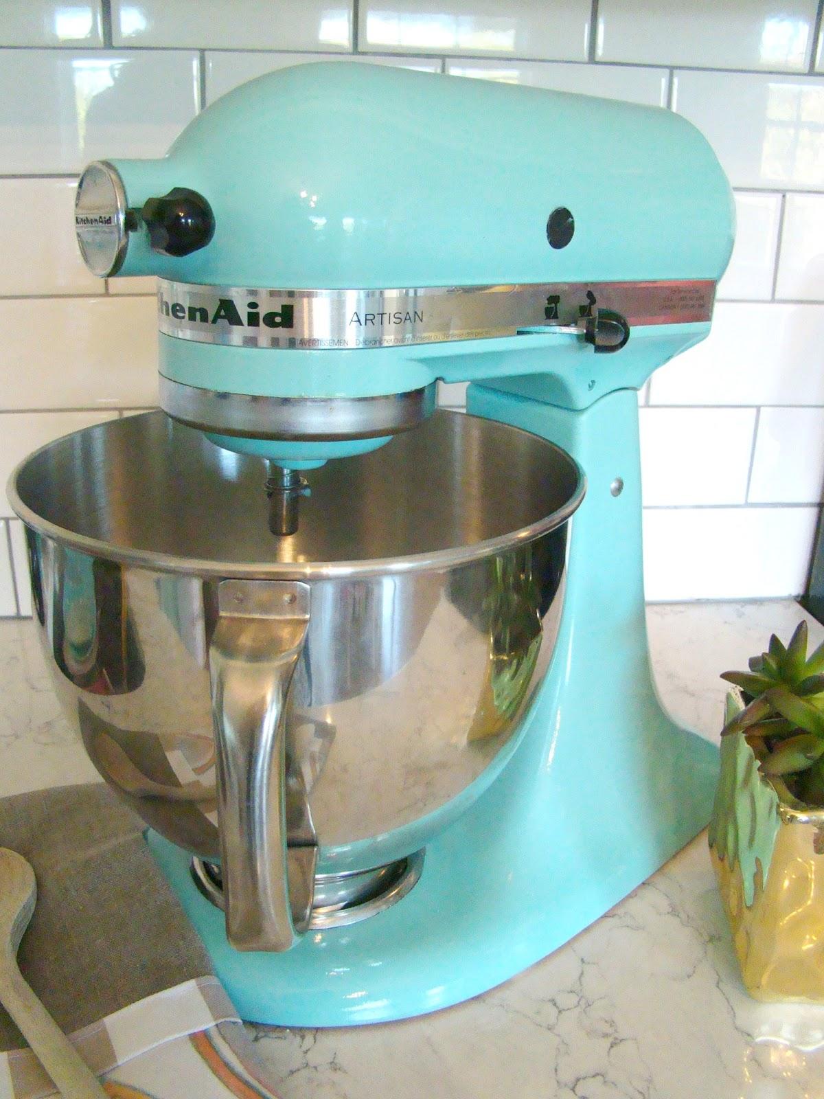Southern Bluebird Day: KitchenAid Mixer Refresh