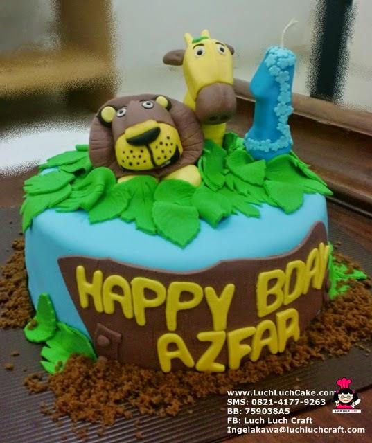Kue Tart Ulang Tahun Umur 1 Tahun