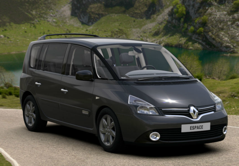 renault espace iv restyl 2015 couleurs colors. Black Bedroom Furniture Sets. Home Design Ideas