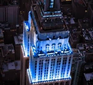 TARDIS Blue Doctor Who Empire State Building New York
