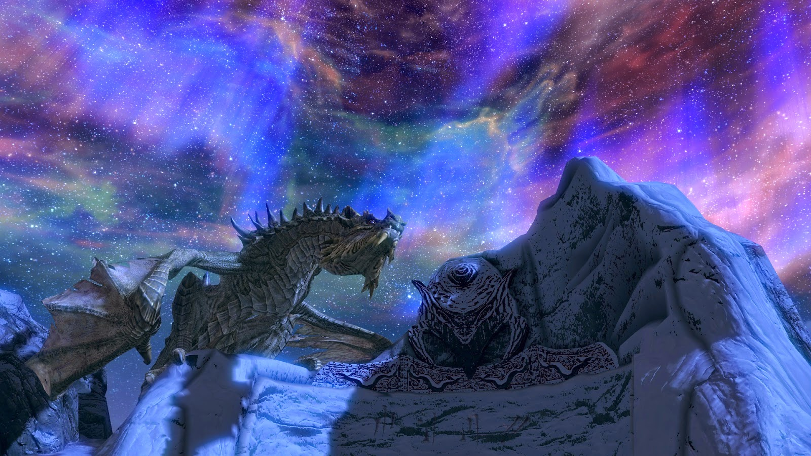 paarthunax,anime wallpaper,anime scenery