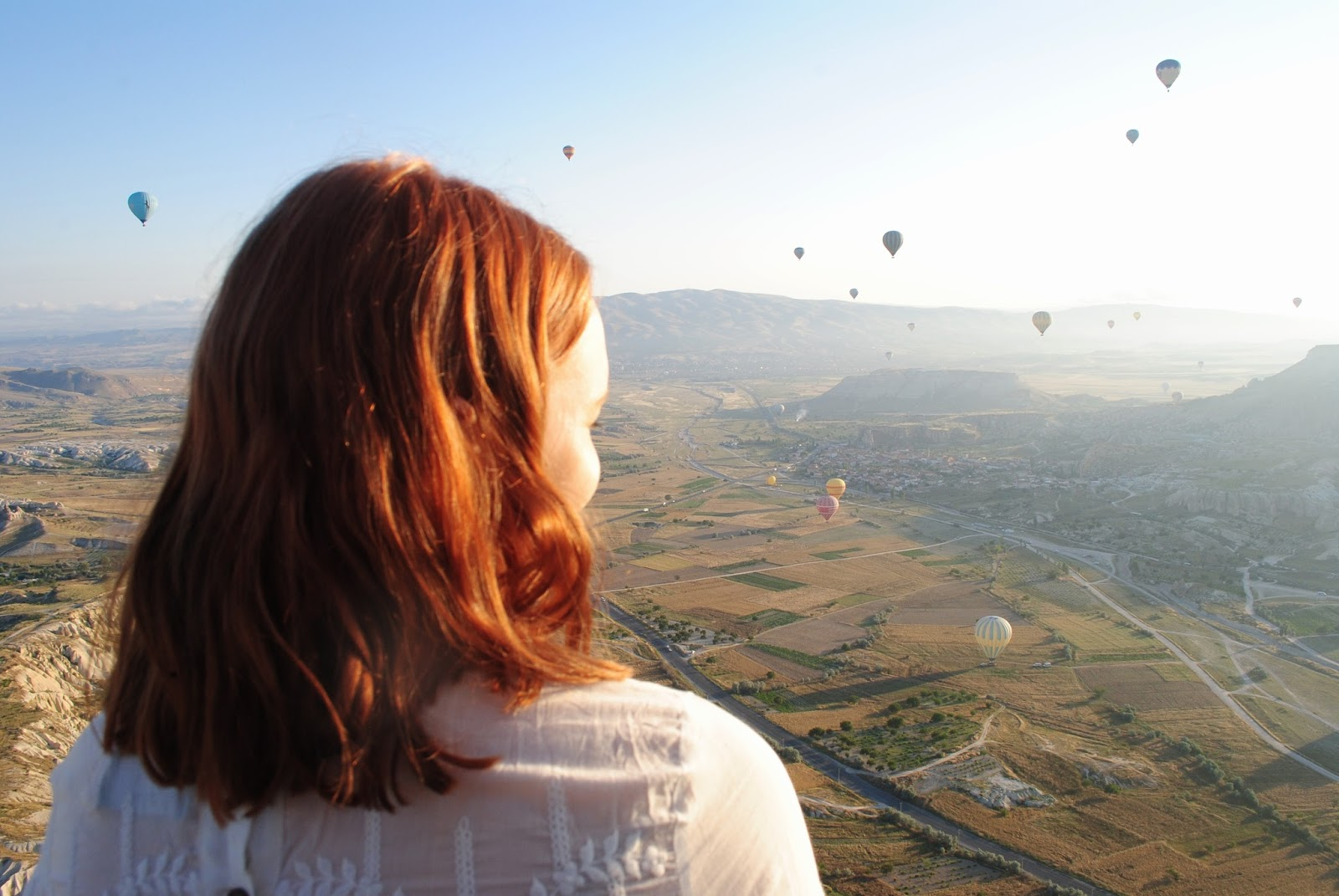 Hot Air Ballooning over Cappadocia in Turkey