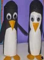 Pingüino, Penguin, reciclaje, recycling