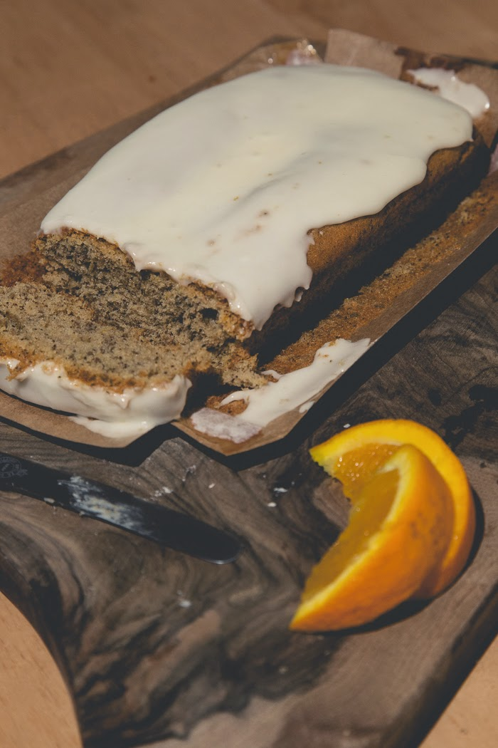 Earl Grey Orange and Chia Seed Cake