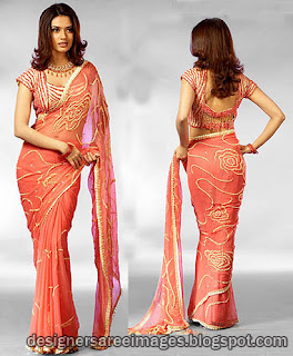 Latest Blouse Design Ideas for 2012 - Fancy Choli Designs - Blouse Back Designs - Blouse Neck Models - Celebrities saree blouse pictures