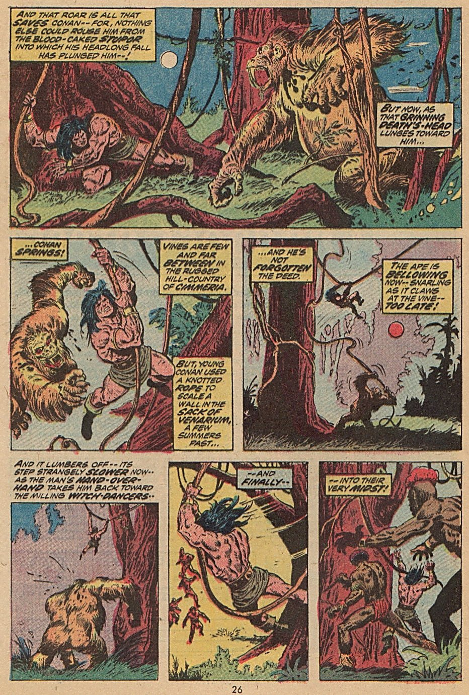 Conan the Barbarian (1970) Issue #28 #40 - English 18