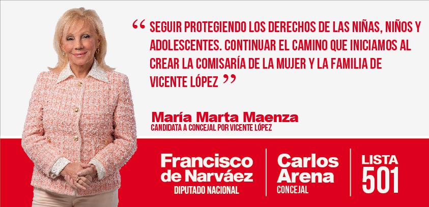 Concejal María Marta Maenza
