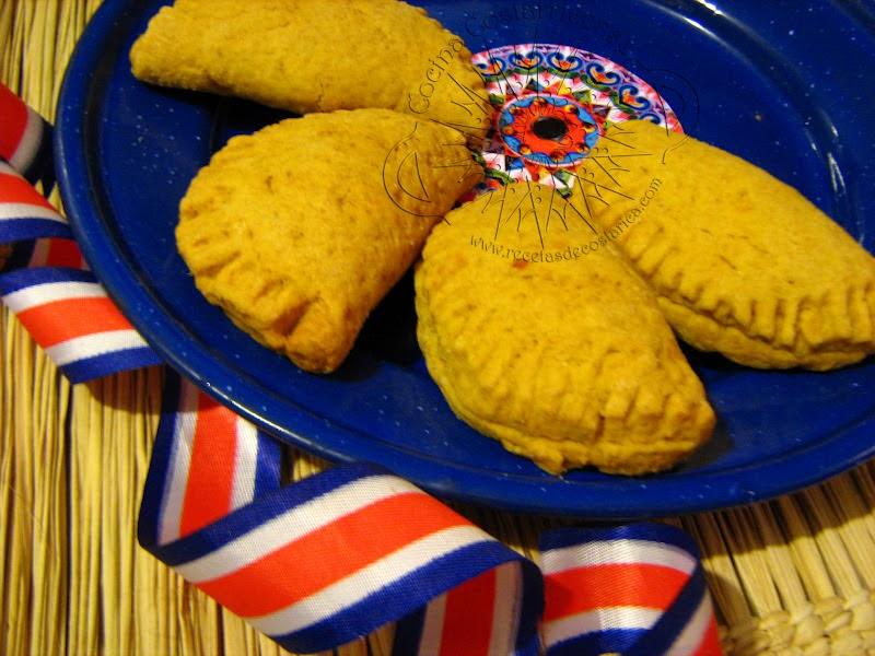 Cocina costarricense empanadas queso y azúcar